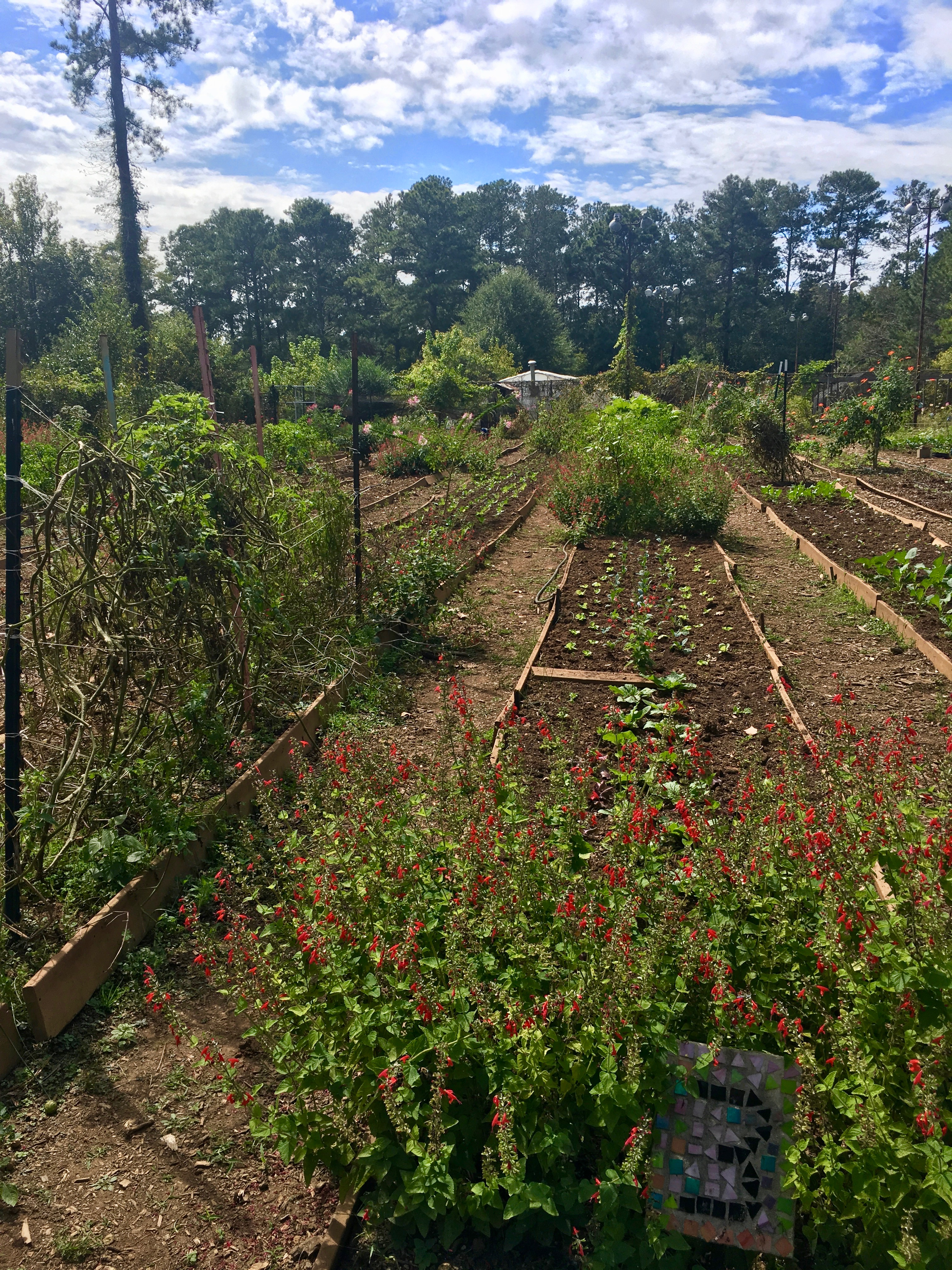 The Unity Garden at the Chattahoochee Nature Center (Roswell, GA)