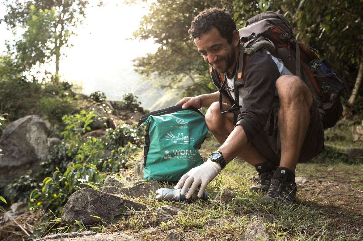 Leave Only Footprints (10 Pieces Litter Collection Initiative with World Expeditions)
