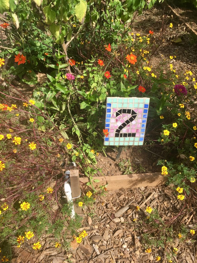 The Unity Garden at the Chattahoochee Nature Center in Roswell, GA