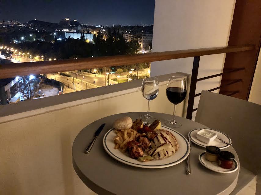 Hilton Athens room service