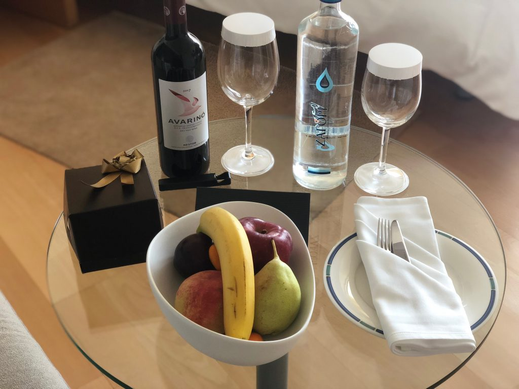 Hilton Athens Welcome Gift