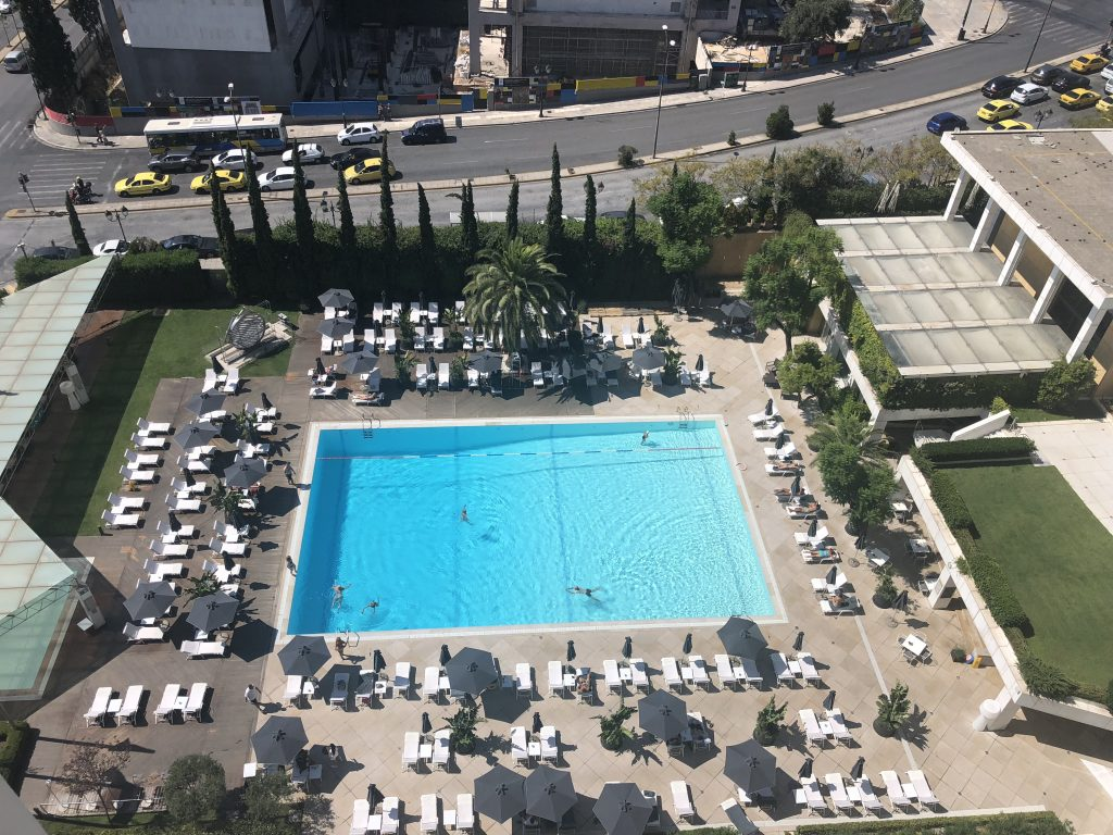 Hilton Athens Pool View