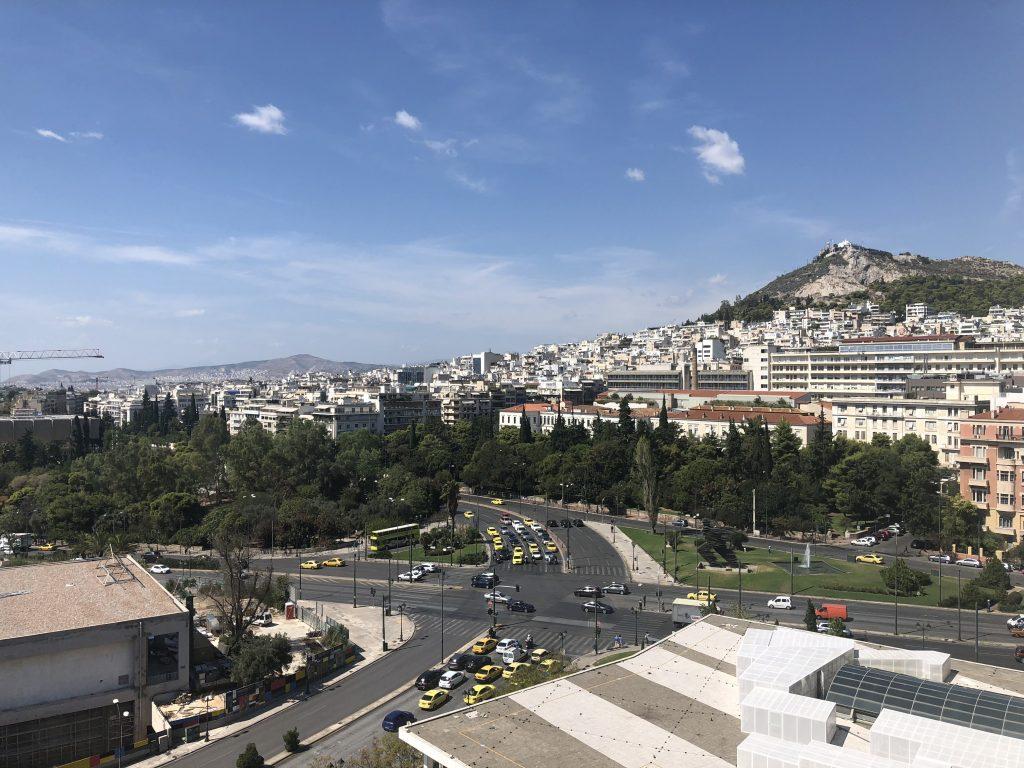 Hilton Athens Balcony View