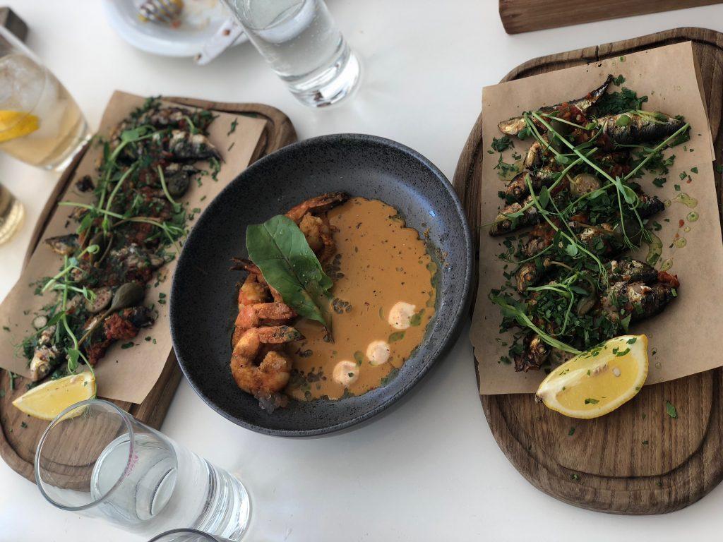 Hilton Athens Food