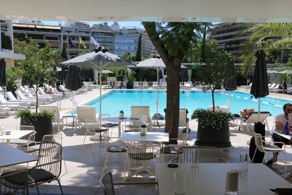 Hilton Athens Pool