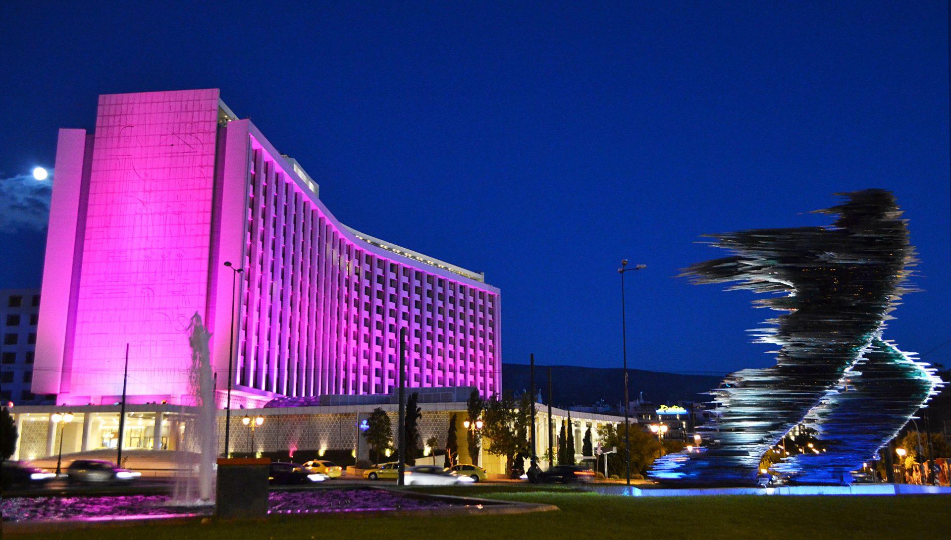 Hilton Athens Exterior