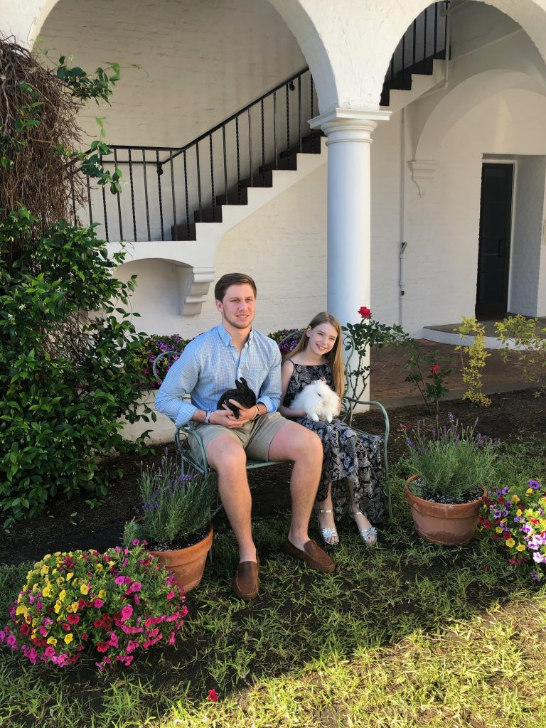 Photos with the Bunnies at Jekyll Island Resort